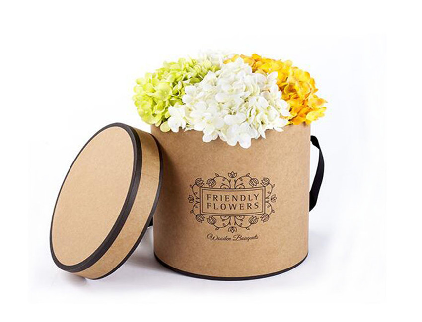 Kraft Paper Flower Box Wholesale