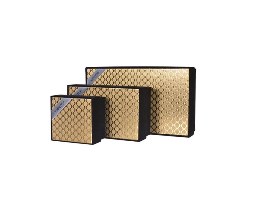 Golden Gift Packing Box