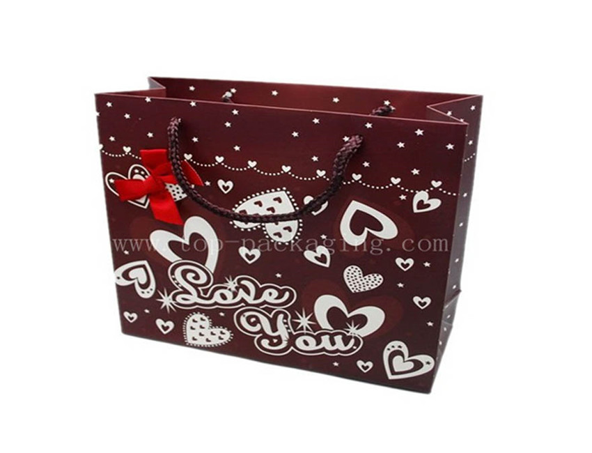 Gift Paper Bag with Bow