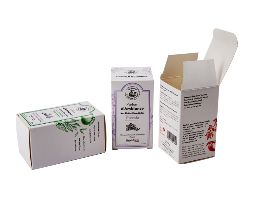 Lotion Paper Box