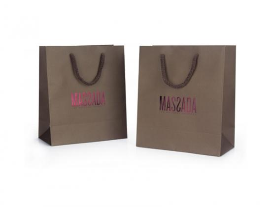 Shopping Paper Bag with Handles