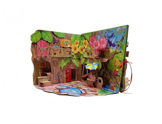 House Pop up Book