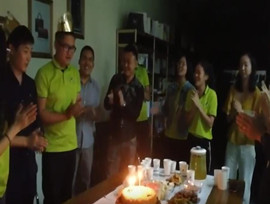Monthly Employee Birthday Party