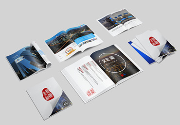 Production process of brochure printing